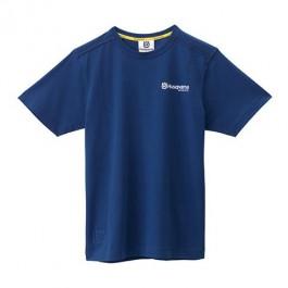 HUSQVARNA BASIC LOGO TEE BLUE 3HS1556203