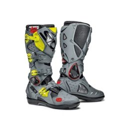 Crossfire 2 SRS Black / Grey / Yellow Bike Boots