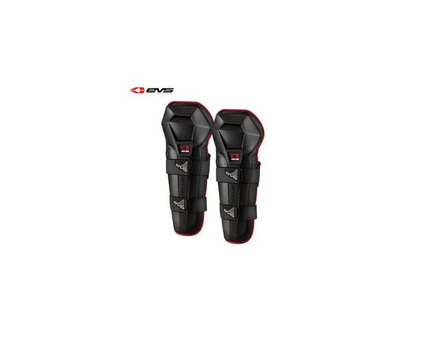 EVS Option Knee Guards Black Pair