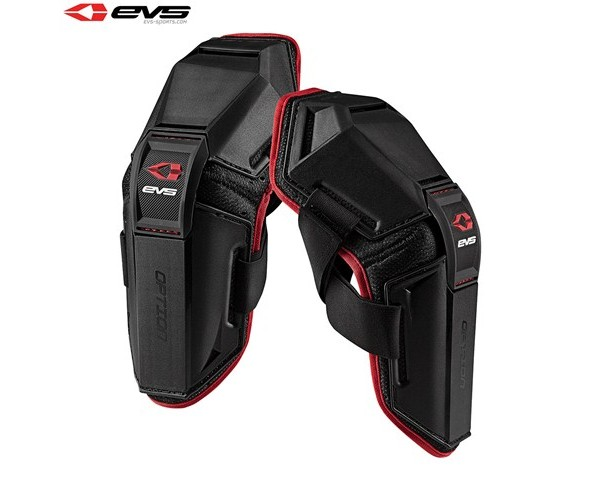 EVS Option Elbow Guards Adult (Black) Pair