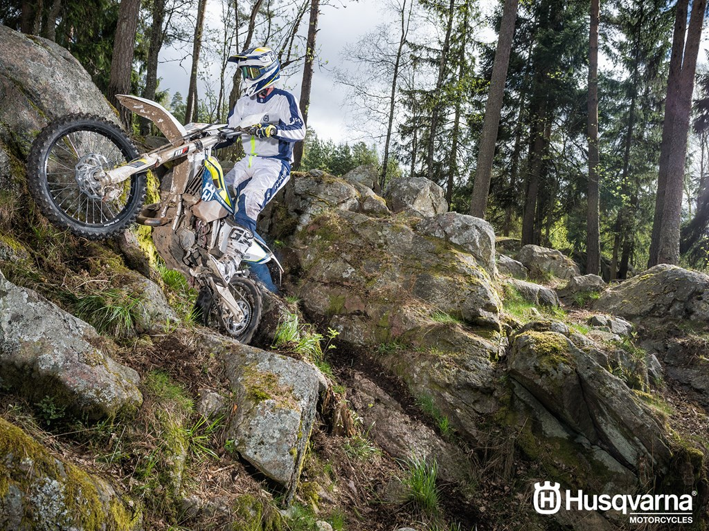 Husqvarna TE 125 Enduro Bike