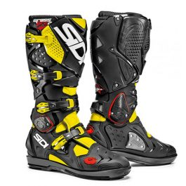 Sidi Crossfire 2 SRS Black/Yellow MX Boots