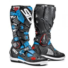 Sidi Crossfire 2 SRS Black/Blue MX Boots