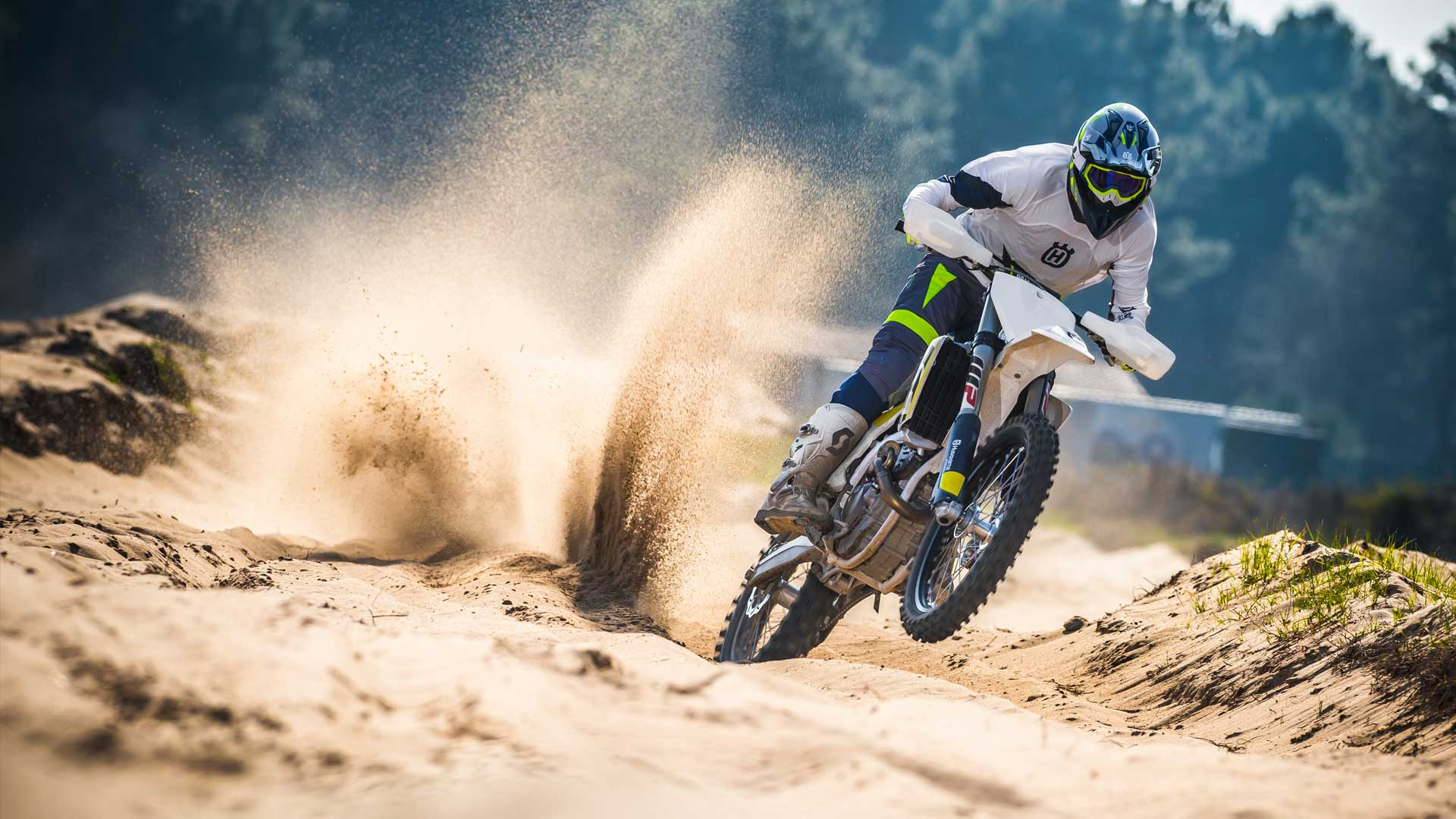 Husqvarna Motorcycles At Midwest Racing Wiltshire Uk