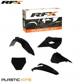 RFX Plastic Kit Husqvarna (Black) TC85 14-16 (5 Pc Kit)