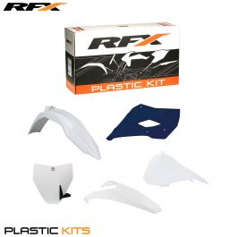 RFX Plastic Kit Husqvarna (White) TC85 14-16 (5 Pc Kit)