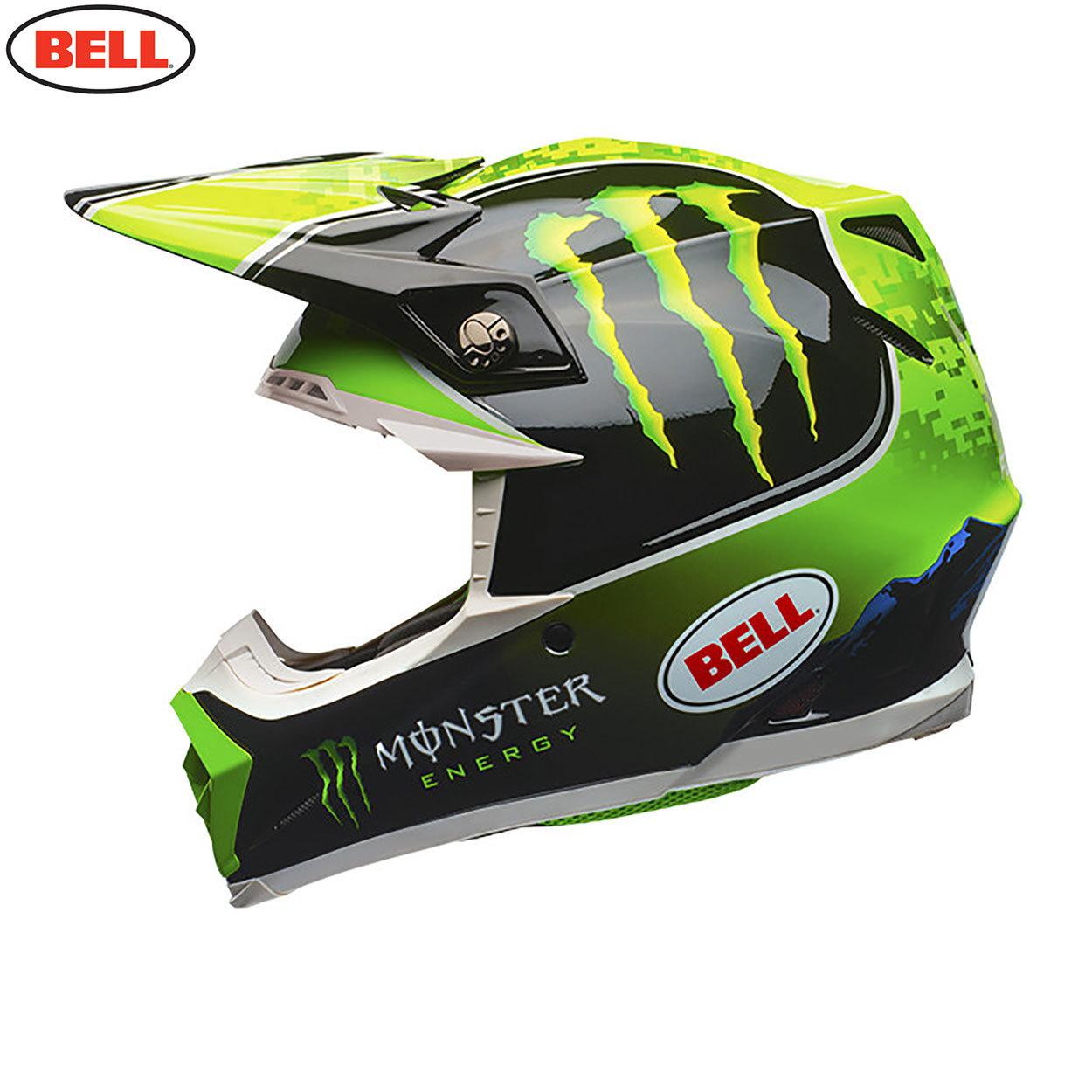 Casque Shoei 2018 >> Bell MX Moto-9 Adult Helmet (Tomac Monster Replica) - Midwest Racing