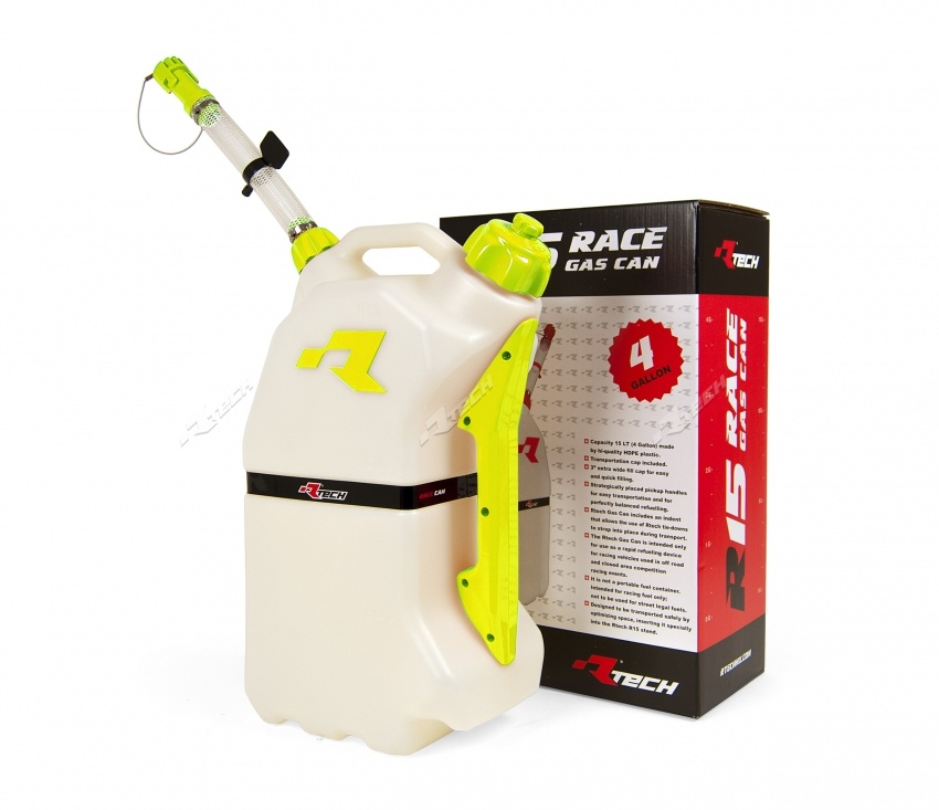 racing gas can. race tech fuel can 15l racing gas