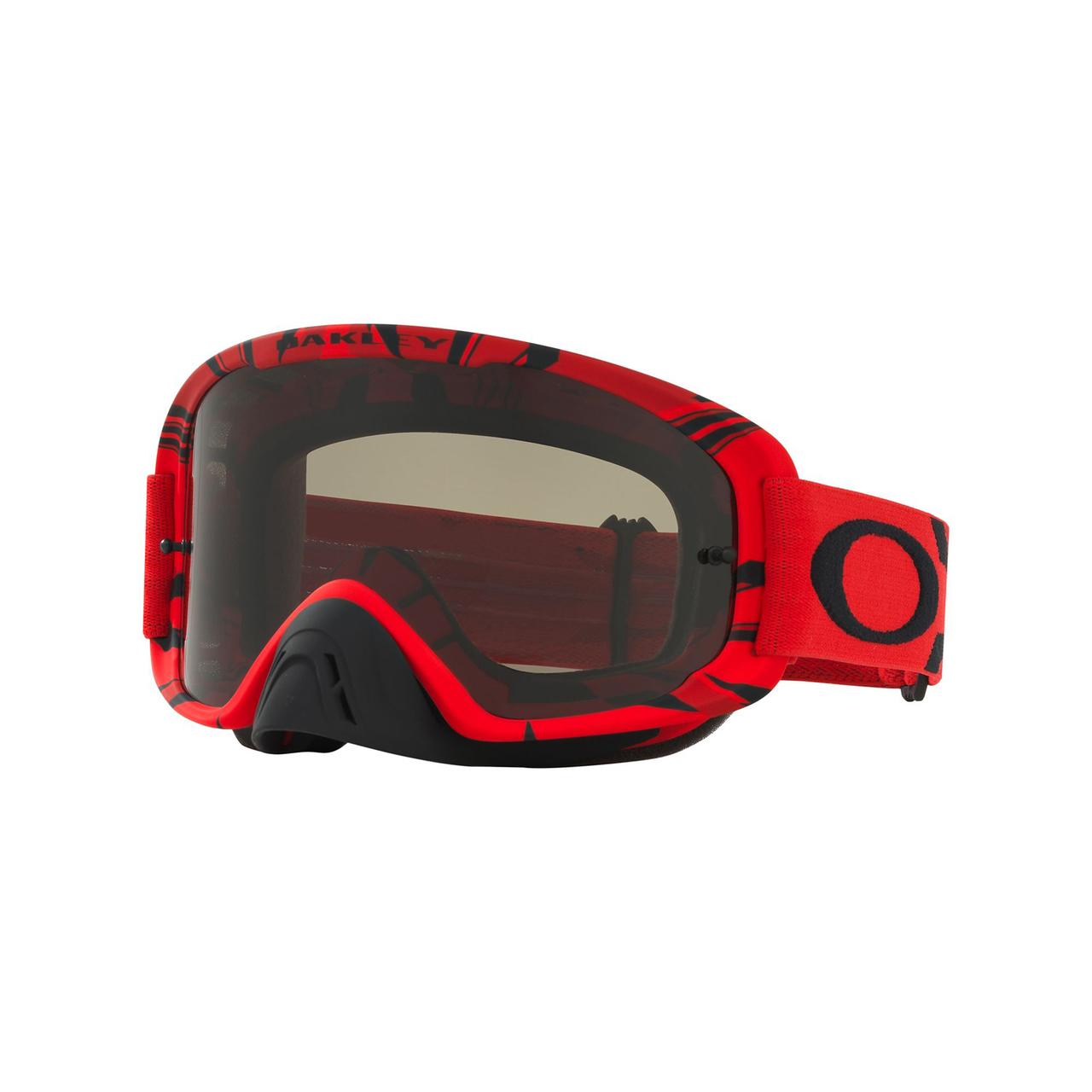 b40dbb0bd0 Oakley 2018 O Frame 2.0 MX Goggle Adult (Intimdator Red Black) Dark Grey  Lens. 0OO7068  706807 030A  31056.1540910514.1280.1280