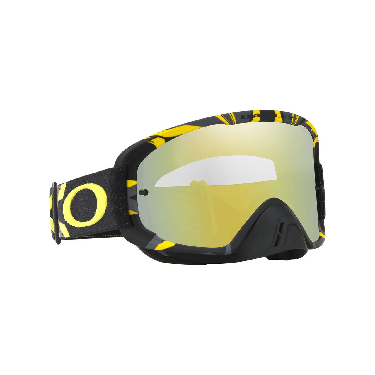 37527b97e8 Oakley 2018 O Frame 2.0 MX Goggle Adult (Intimdator Gun Metal Yellow ...