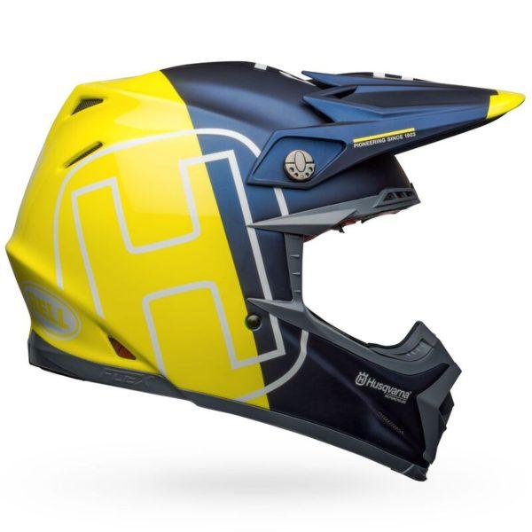 bell-moto-9-flex-carbon-dirt-motorcycle-helmet-husqvarna-gotland-matte-gloss-blue-hi-viz-right
